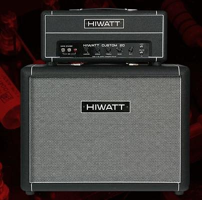 Gilmours Hiwatt amp