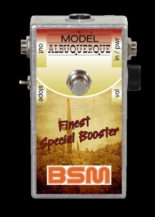 Booster Image: Albuquerque Special Booster