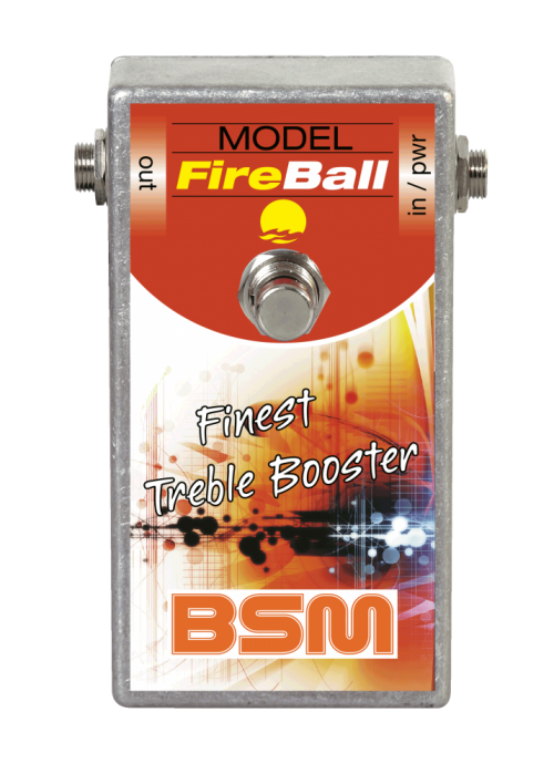 Booster Image: FireBall Treble Booster