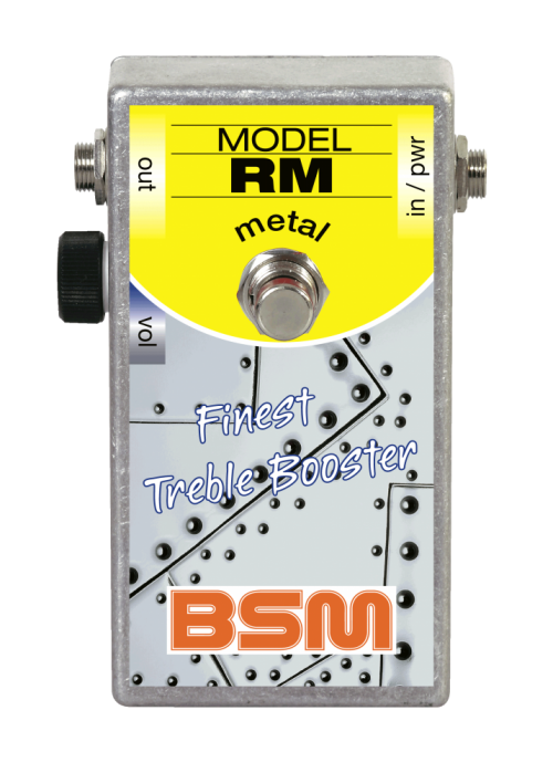Booster Image: RM-Metal Treble Booster